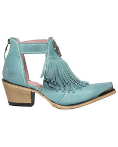 Junk Gypsy by Lane Women's Kiss Me At Midnight Fashion Booties - Snip Toe, Turquoise, hi-res