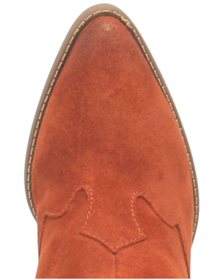 Dingo Women's Rust Flannie Fashion Booties - Round Toe, Rust Copper, hi-res