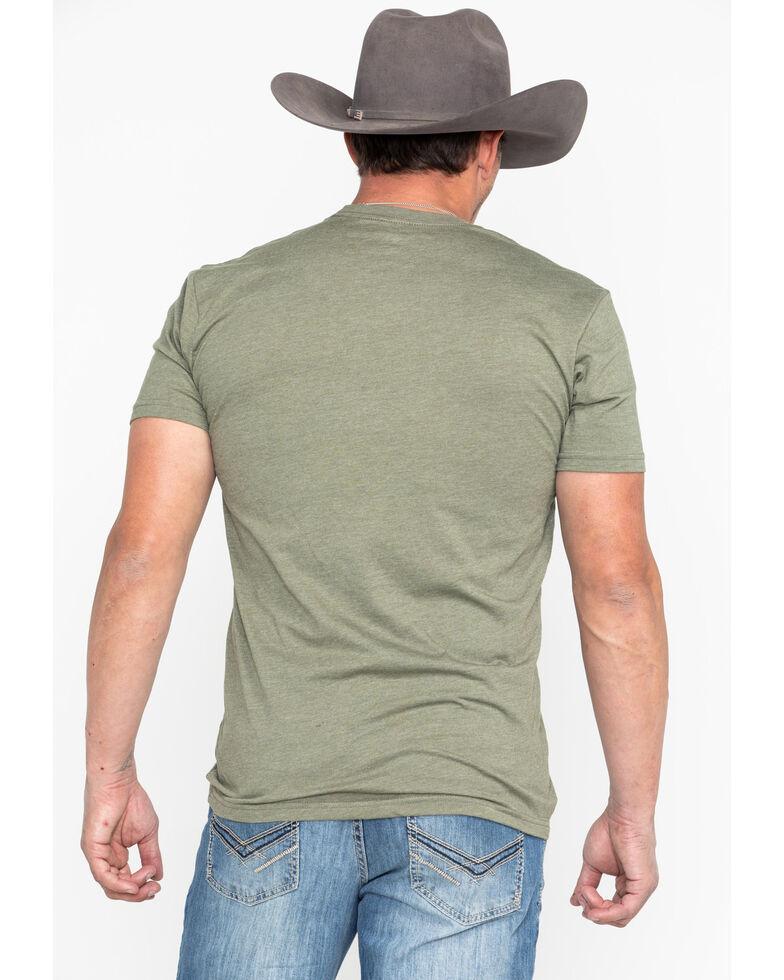 HOOey Men's Olive Roughy 2.0 Crew Neck T-Shirt , Olive, hi-res