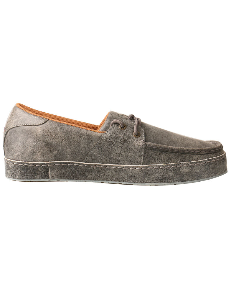 Twisted X Men's Marbled Western Sneakers - Moc Toe, Grey, hi-res