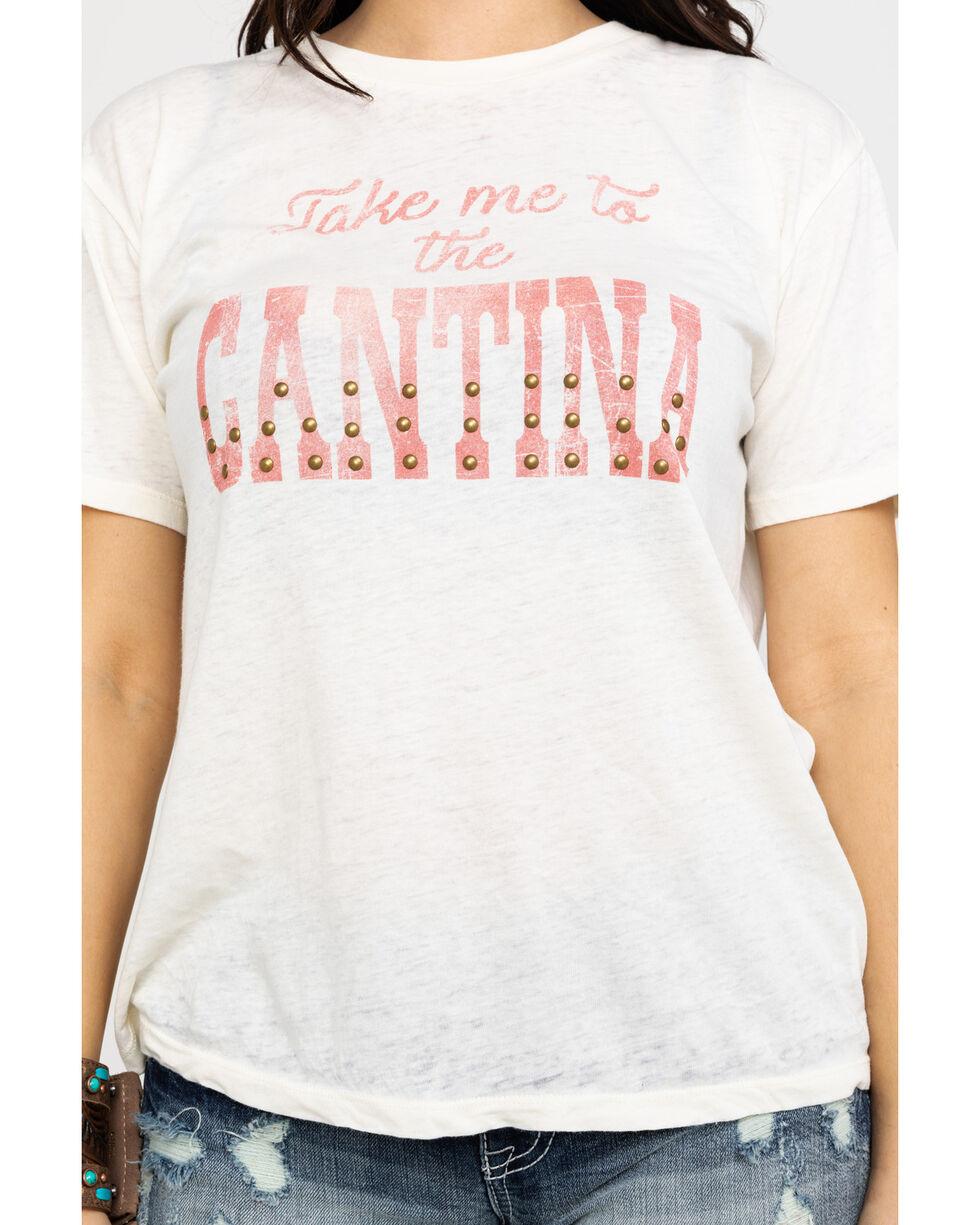 White Crow Women's White Take Me To The Cantina Tee, White, hi-res