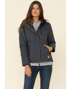 Carhartt Women's Bluestone Utility Work Jacket, Blue, hi-res