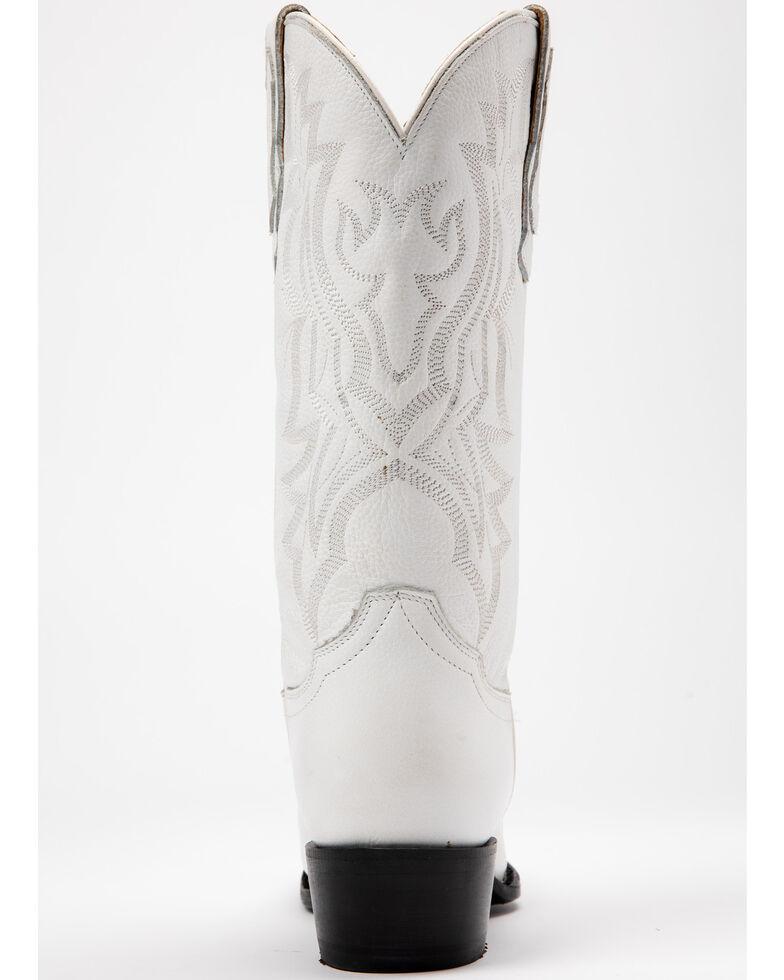Shyanne Women's Blanca Western Boots - Round Toe, White, hi-res