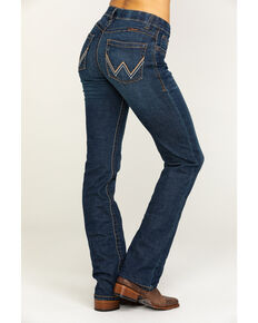 Wrangler Women's Ultimate Riding Williow Lovette Bootcut Jeans, Medium Blue, hi-res