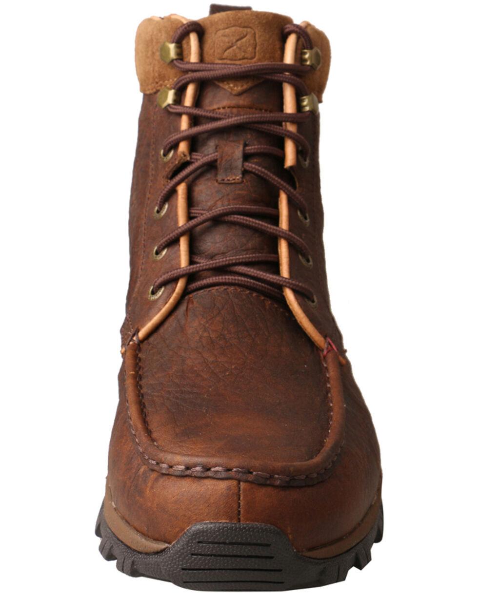 Twisted X Men's Waterproof Hiker Boots - Moc Toe, Chocolate, hi-res