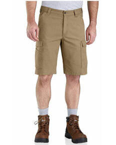 Carhartt Men's Rugged Flex Rigby Work Cargo Shorts , Beige/khaki, hi-res