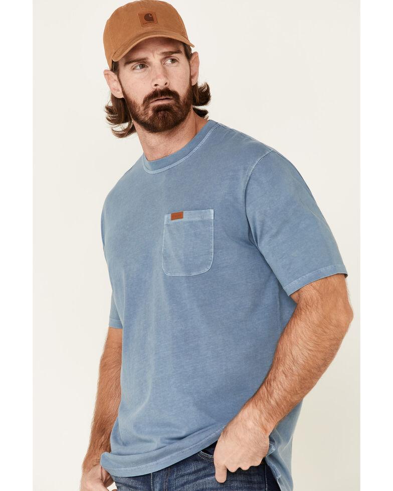 Pendleton Men's Blue Deschutes Pocket Short Sleeve T-Shirt , Blue, hi-res