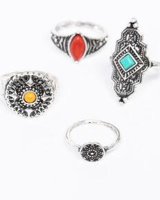 Shyanne Women's Isla Jane Multi-Colored Ring Set, Multi, hi-res