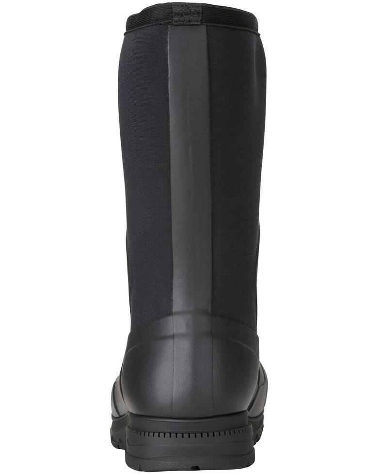 Ariat Men's Springfield Rubber Work Boots - Soft Toe, Black, hi-res