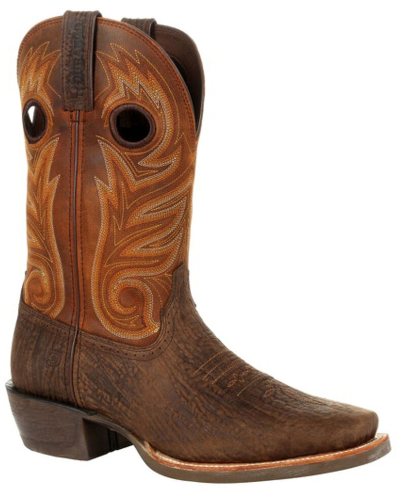 Durango Men's Rebel Pro Western Boots - Square Toe, Brown, hi-res