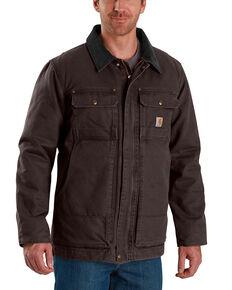 Carhartt Men's Full Swing Traditional Coat - Big & Tall , Dark Brown, hi-res