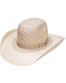 HOOey Resistol Boys' Wesley Tan Pattern Cowboy Hat, Natural, hi-res