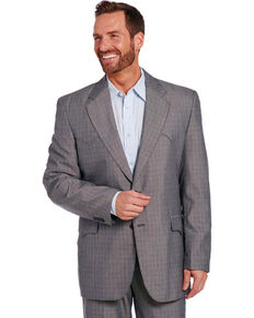 Circle S Men's Grey Houston Sportcoat , Grey, hi-res
