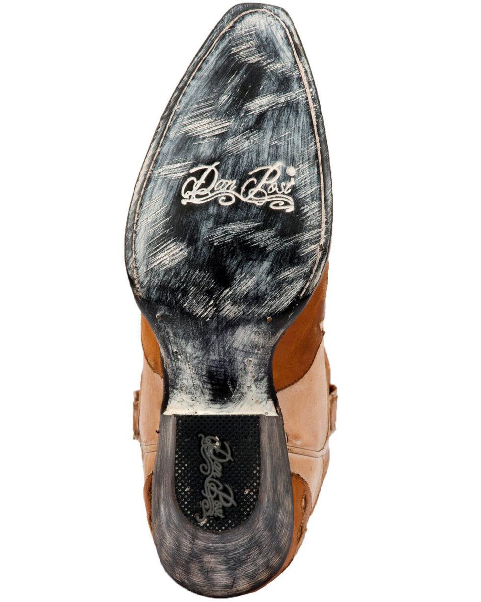 Dan Post Women's Mae Soft Strike Western Boots - Snip Toe, Tan, hi-res