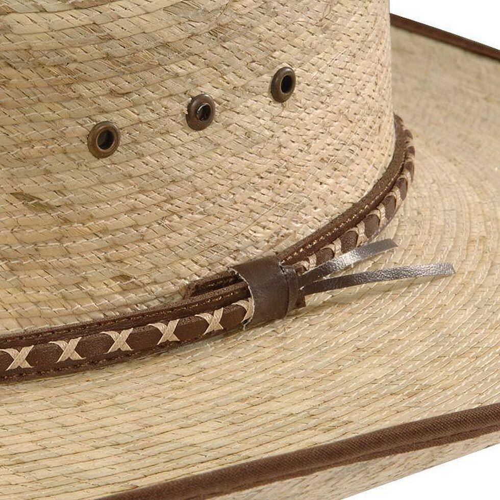Resistol Brush Hog Mexican Palm Straw Cowboy Hat, Natural, hi-res