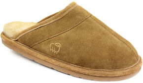 Lamo Dije California Men's Scuff Slipper , Chestnut, hi-res