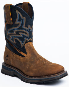 Cody James Men's Disruptor Western Boots - Soft Toe, Brown, hi-res