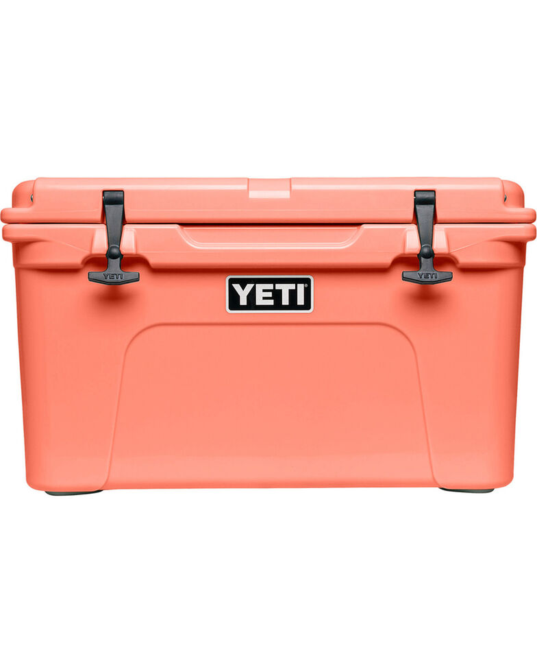 Yeti Coral Tundra 45 Limited Edition Cooler , Coral, hi-res