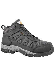 Carhartt Men's Black Lightweight Hiker Work Boots - Carbon Safety Toe, Black, hi-res
