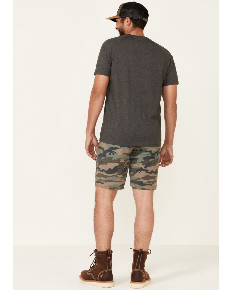Flag & Anthem Men's Mini Stripe Made Flex Hybrid Shorts , Olive, hi-res