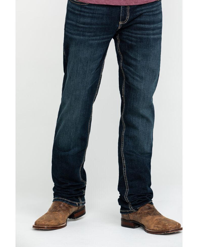 Wrangler 20X Men's No. 44 Glendive Slim Straight Jeans, Blue, hi-res