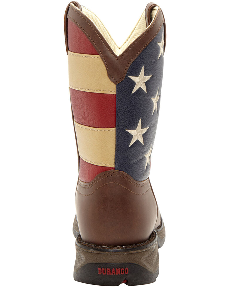 Durango Youth Boys' American Flag Western Boots - Country Outfitter