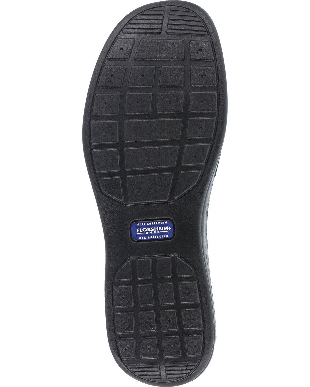 Slip-On Work Shoes - Steel Toe