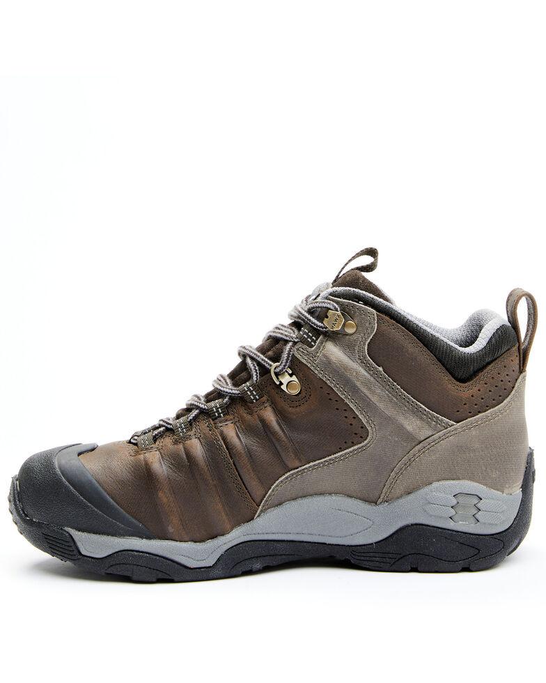 Hawx Men's Axis Waterproof Hiker Boots - Soft Toe, Brown, hi-res
