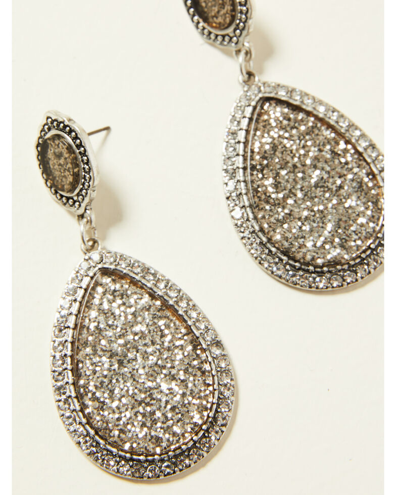 Idyllwind Women's Sparkle All Night Earrings, Silver, hi-res