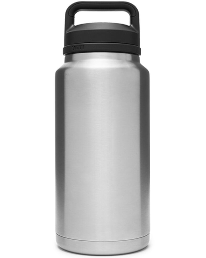Yeti Rambler 36oz Stainless Steel Chug Bottle, Steel, hi-res