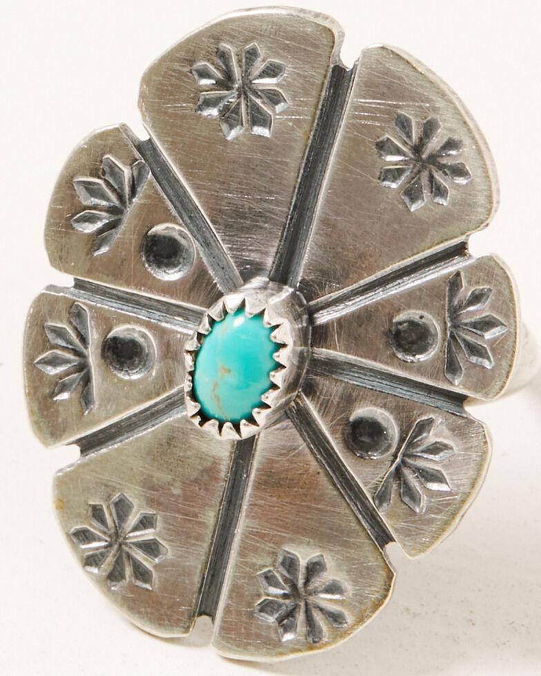 Broken Arrow Women's Blossom Ring, Silver, hi-res