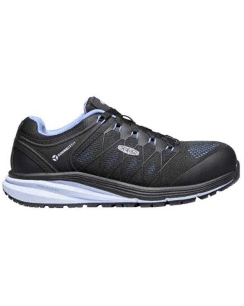 Keen Women's Vista Energy Work Shoes - Carbon Toe, Black, hi-res