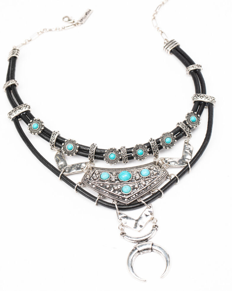 Idyllwind Women's Came To Play Necklace, Black, hi-res