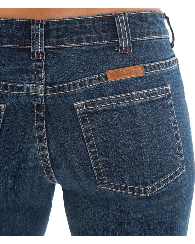 Cowgirl Tuff Women's Medium Wash Bootcut Jeans, Blue, hi-res