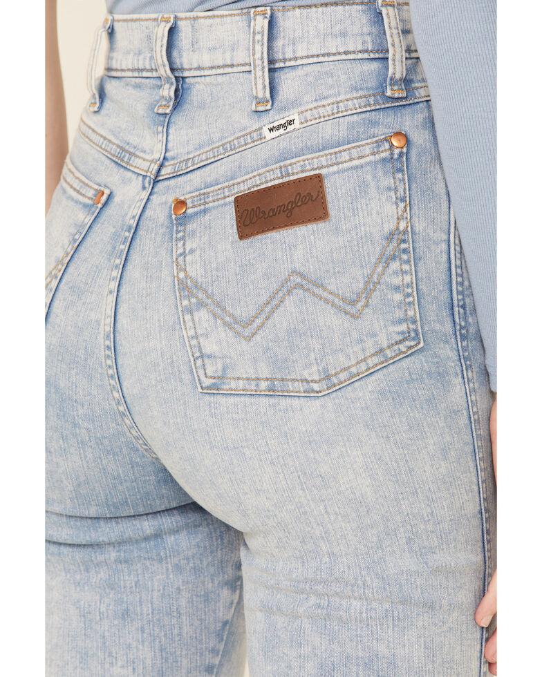 Wrangler Women's Wriggler Skinny Jeans, Blue, hi-res