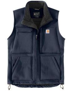 Carhartt Men's Bluestone Super Dux Relaxed Fit Sherpa-Lined Work Vest , Blue, hi-res