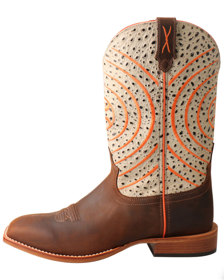 Twisted X Men's HOOey Western Boots, Chocolate, hi-res