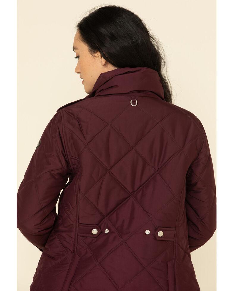 Ariat Women's Burgundy Terrace Jacket , Burgundy, hi-res