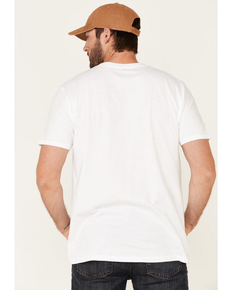 Levi's Men's White Serif Logo Graphic T-Shirt , White, hi-res
