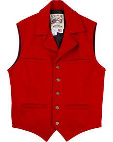 Schaefer Men's Cattle Baron Vest - 2XL, Red, hi-res