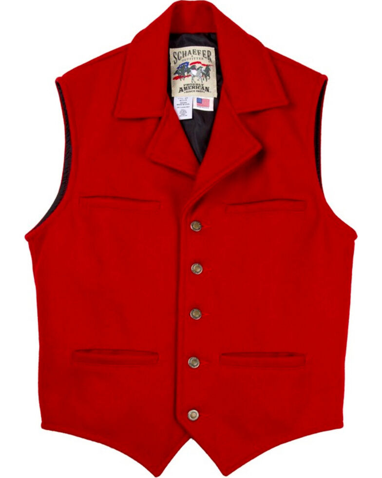 Schaefer Men's Cattle Baron Vest - 2XL, , hi-res