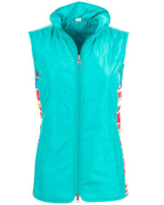 STS Ranchwear Women's Gracie Vest - Plus, Teal, hi-res