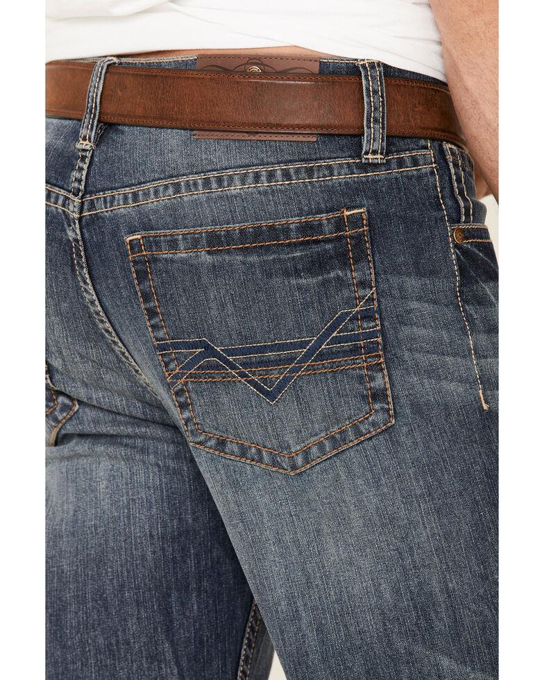 Cody James Men's Blazer Medium Wash Stretch Stackable Straight Leg Jeans , Blue, hi-res