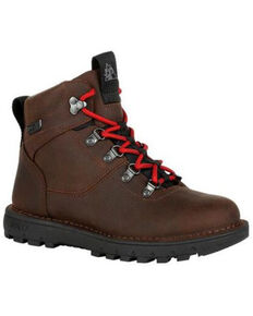 Rocky Women's Brown Legacy 32 Waterproof Lace-Up Hiking Boot , Dark Brown, hi-res