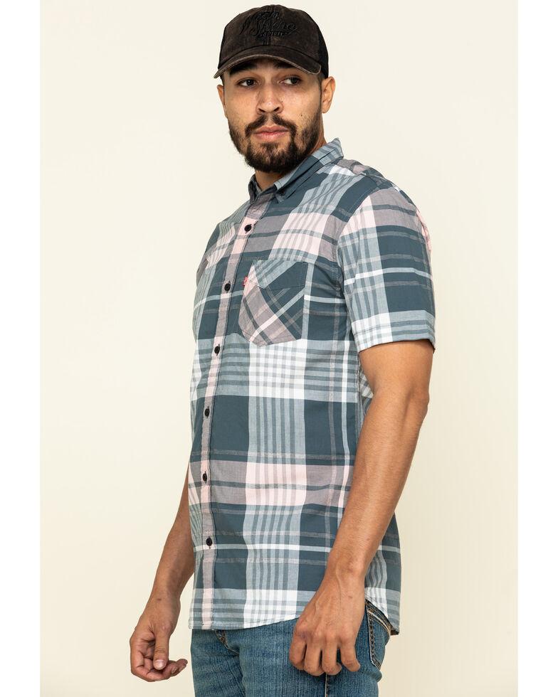 Levi's Men's Multi Belek Plaid Short Sleeve Western Shirt , Multi, hi-res