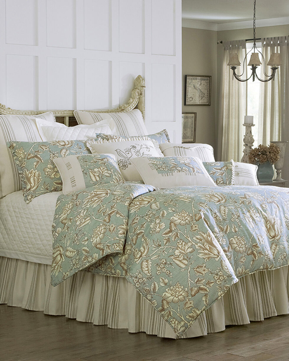 HiEnd Accents Multi Gramercy Four Piece Queen Comforter Set, Multi, hi-res