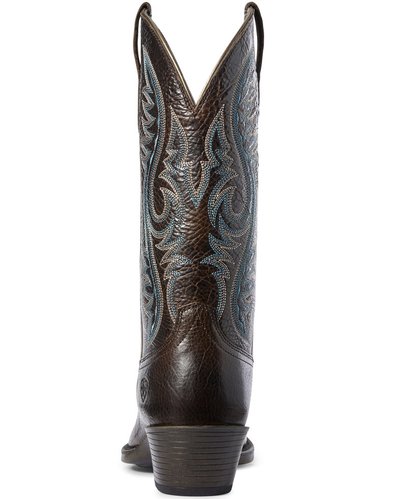 Ariat Women's Sundown Western Boots - Square Toe, Brown, hi-res