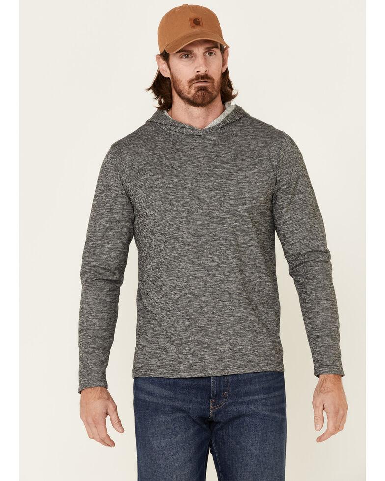 North River Men's Solid Hooded Pullover Sweatshirt , Grey, hi-res