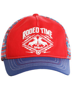 Dale Brisby Men's Rodeo Time Trucker Cap, Blue, hi-res