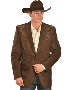 Circle S Galveston Sport Coat - Reg, Tall, Chestnut, hi-res